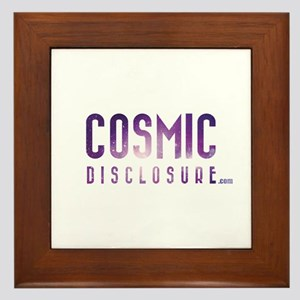 CosmicDisclosure.com Framed Tile