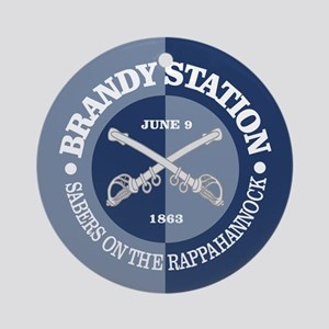 Brandy Station (BG) Round Ornament