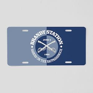 Brandy Station (BG) Aluminum License Plate