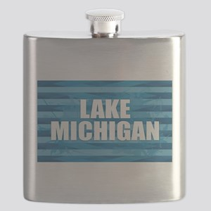 Lake Michigan Flask