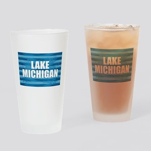 Lake Michigan Drinking Glass