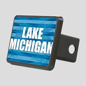 Lake Michigan Rectangular Hitch Cover