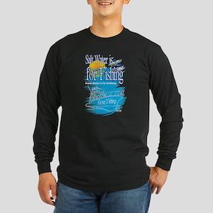 Salt Water Is For Fishing T Sh Long Sleeve T-Shirt