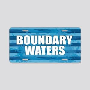 Boundary Waters Aluminum License Plate