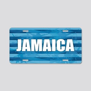 Jamaica Aluminum License Plate