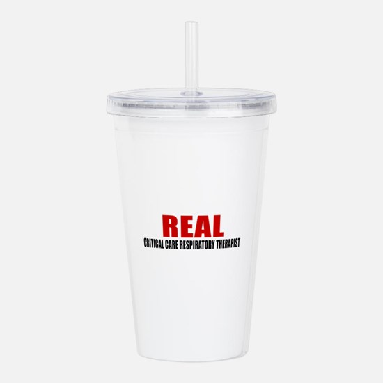 Real Critical Care Res Acrylic Double-wall Tumbler