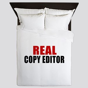 Real Copy editor Queen Duvet