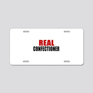 Real Confectioner Aluminum License Plate