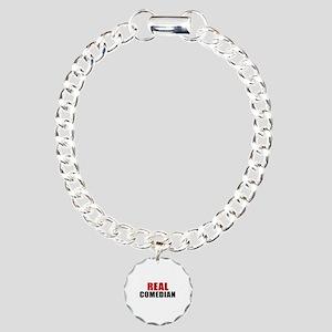 Real Comedian Charm Bracelet, One Charm