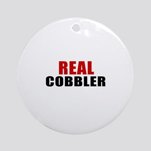 Real Cobbler Round Ornament