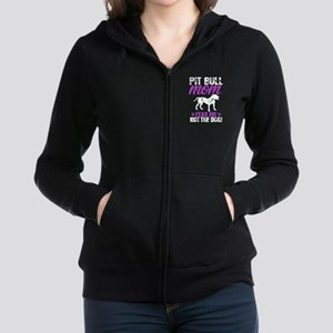 Pit Bull Mom Fear Me Not The Dog T Shir Sweatshirt
