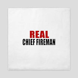 Real Chief fireman Queen Duvet