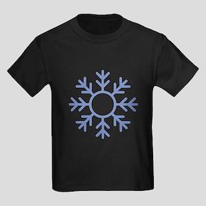 Blue Snowflake Ornament T-Shirt