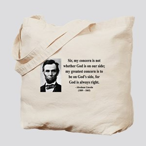 Abraham Lincoln 3 Tote Bag