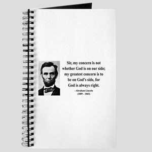 Abraham Lincoln 3 Journal
