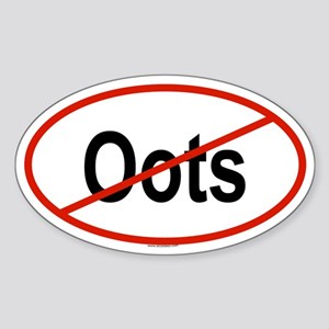 OOTS Oval Sticker