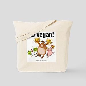 Go Vegan! Cheer Tote Bag