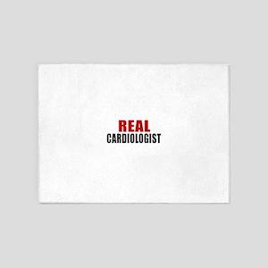 Real Cardiologist 5'x7'Area Rug