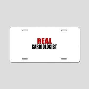 Real Cardiologist Aluminum License Plate