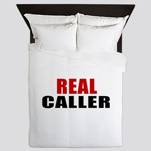 Real Caller Queen Duvet
