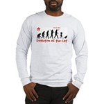 Evolution of the CAT - Long Sleeve T-Shirt