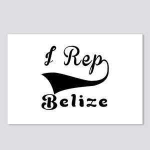 I Rep Belize Postcards (Package of 8)