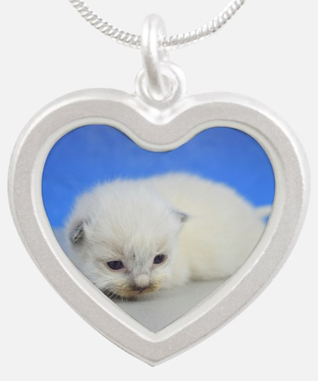 Camilla - Ragdoll Kitten Seal Point Necklaces