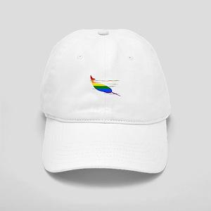 Rainbow Narwhal Cap