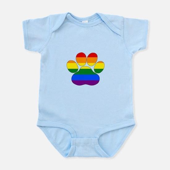 Rainbow Paw Body Suit