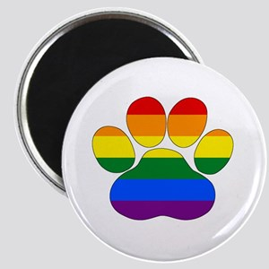 Rainbow Paw Magnets