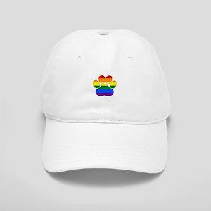Rainbow Paw Cap