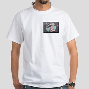 Stick Em' Up! White T-Shirt