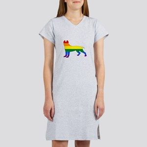 Rainbow Pitbull terrier T-Shirt