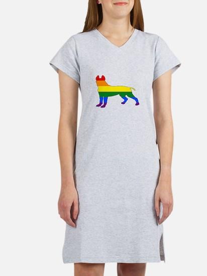 Rainbow Pitbull terrier T-Shirt
