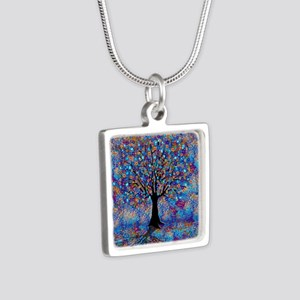 Colorful Tree of Life Tree Carnival by J Necklaces