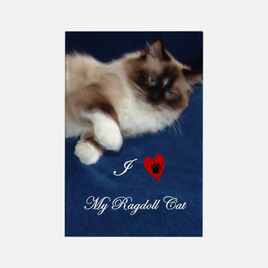 ragdoll Rectangle Magnet