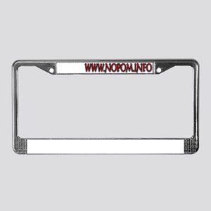 No_Object License Plate Frame