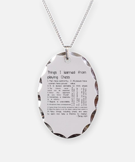 Cute Chess Necklace