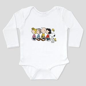 Peanuts Gang Long Sleeve Infant Bodysuit