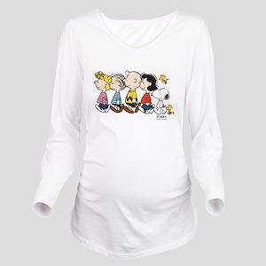Peanuts Gang Long Sleeve Maternity T-Shirt