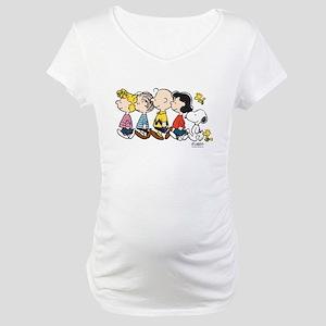 Peanuts Gang Maternity T-Shirt