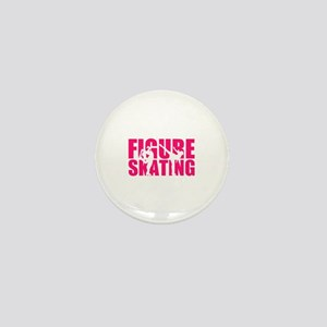 Figure skating Mini Button