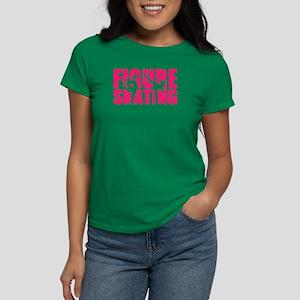 Figure skating Women's Dark T-Shirt
