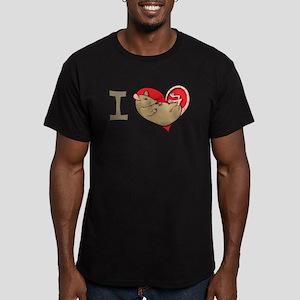 I heart rats (tan) T-Shirt