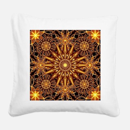 Cool Symbols Square Canvas Pillow