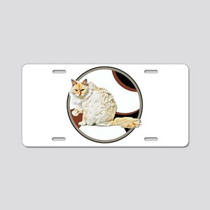 Bad kitty Aluminum License Plate