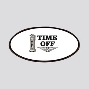 time off time wings Patch