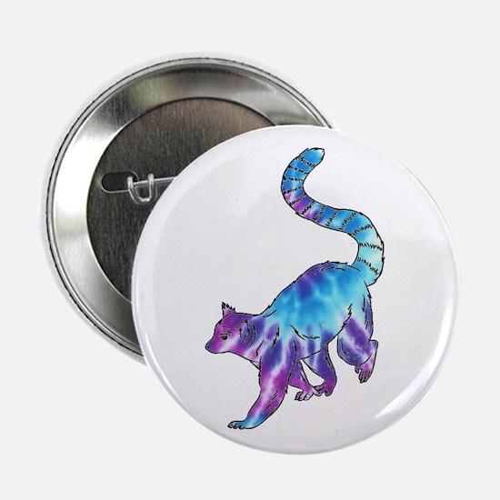 "Psychedelic Lemur 2.25"" Button (10 pack)"