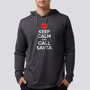 Keep Calm Call Savta Long Sleeve T-Shirt