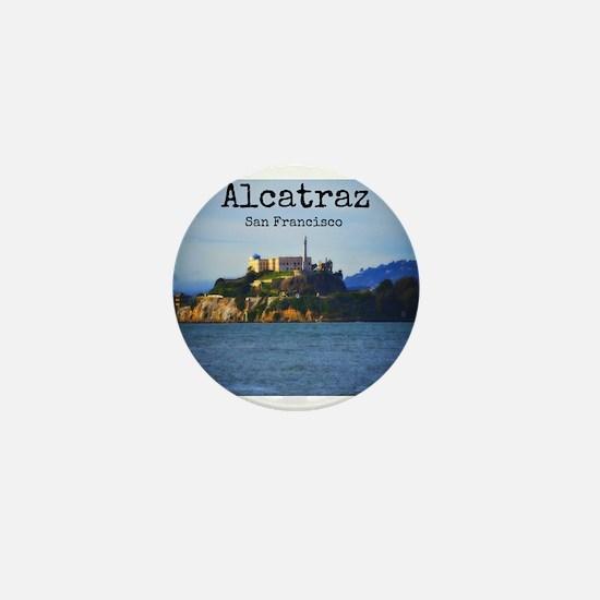 Alcatraz Island San Francisco Mini Button